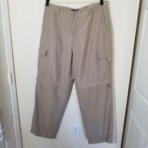 Nevada Convertible Pants into Shorts Size 40x33